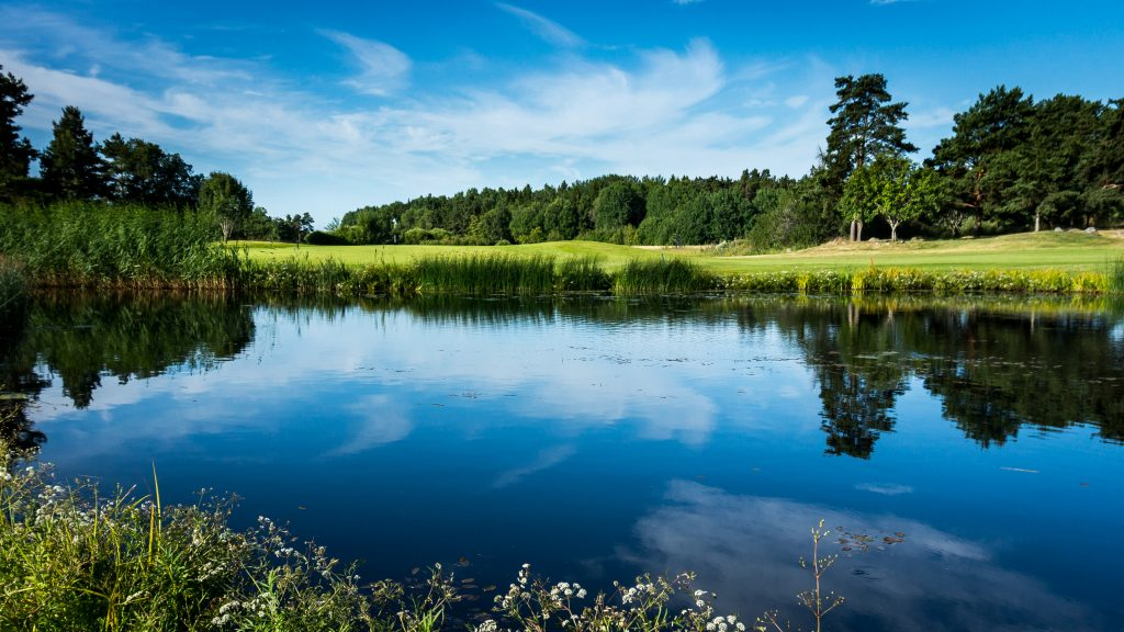 Troxhammar Golf Club (12 hole course), Stockholm, Sweden